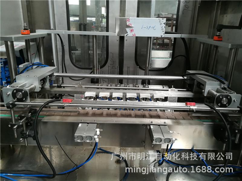 試管自動灌裝機 下管灌裝旋蓋貼標簽流水線 自動試管灌裝一體機示例圖13