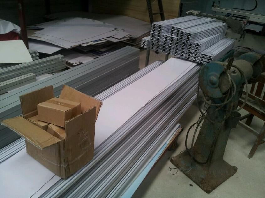 北京展会八棱柱展示架书画展览屏风折叠展板 40方柱铝料展板销售