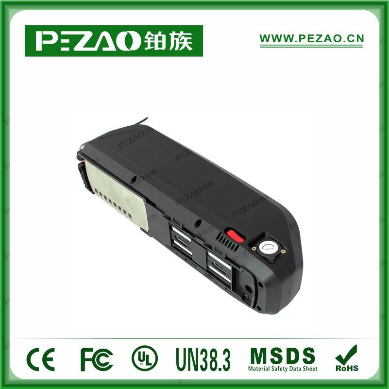 铂族电池 海龙1号锂电自行车电池组/锂电自行车电池组/锂电自行车动力电池组 36V10/13/14Ah锂电池组示例图4