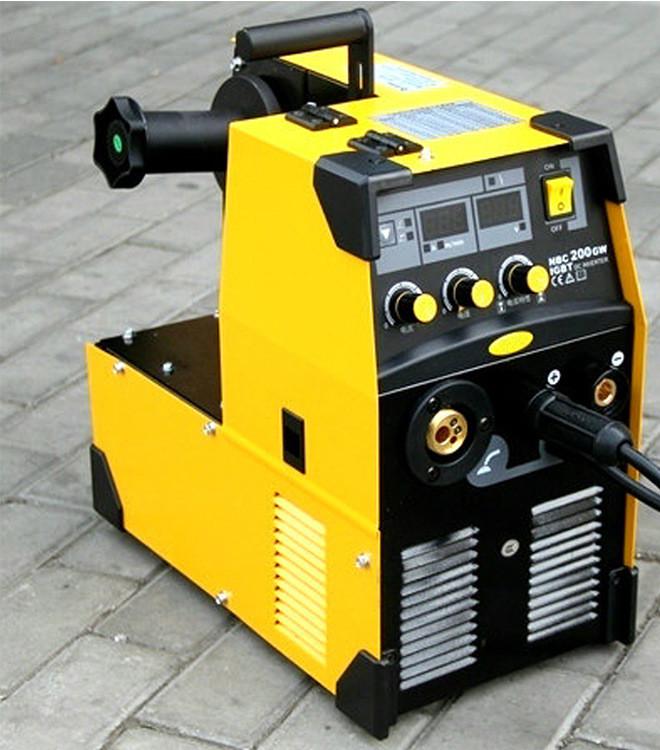 进口IGBT单相气保焊机 二保电焊机 NBC200GW气保焊示例图1