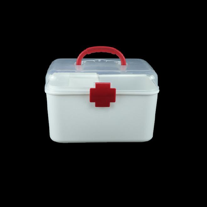 厂家直销塑料药箱 家用药箱 药品收纳箱手提箱药房赠品扶贫保健箱示例图10