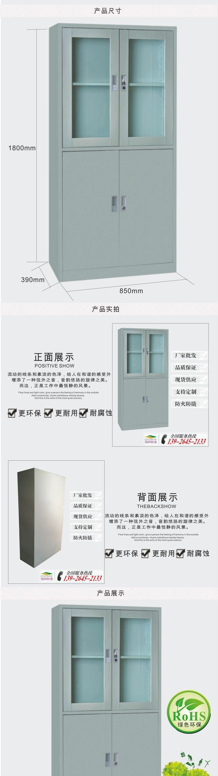 广州 文件柜 铁皮文件柜 办公文件柜 等体器械柜 工厂批发 热销示例图2