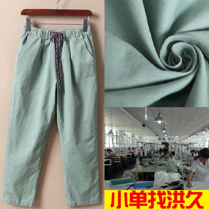 梭织 女装 工装裤 包工包料 清加工打样打版 OEM/ODM 小单快返图片