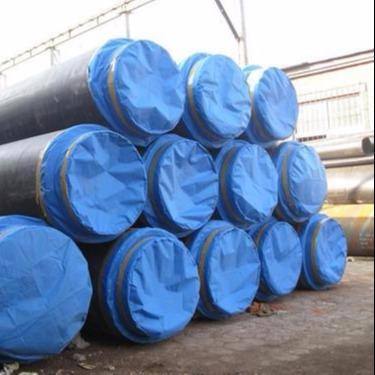 龙都管道直销 聚氨酯直埋式保温管 3PE防腐钢管 双层环氧粉末防腐钢管 聚氨酯保温钢管