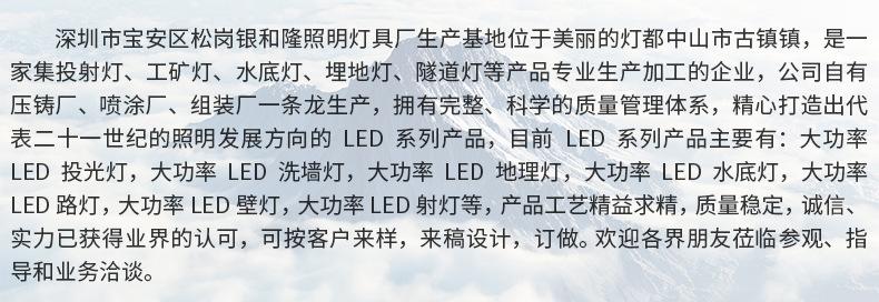 投光燈外殼泛光燈外殼仿超黑金剛30W50W100W150W200W400w500W600W示例圖28