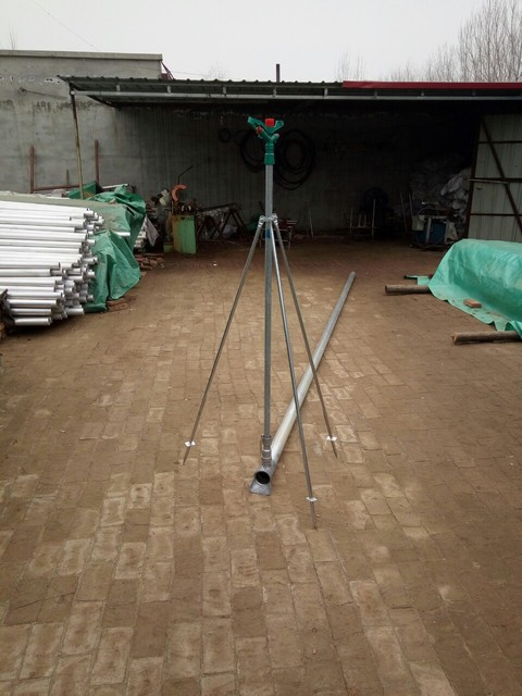 厂家直销 喷灌立杆支架,塑料喷头 铝合金喷头 全圆控角喷头