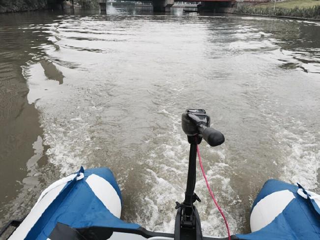 冲锋舟推进器船用登山日记橡皮艇皮划艇挂桨机电动马达400图片