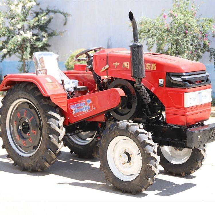 矮架25马力拖拉机 梨园开沟施肥耕地机现货 侧坐低矮型拖拉机