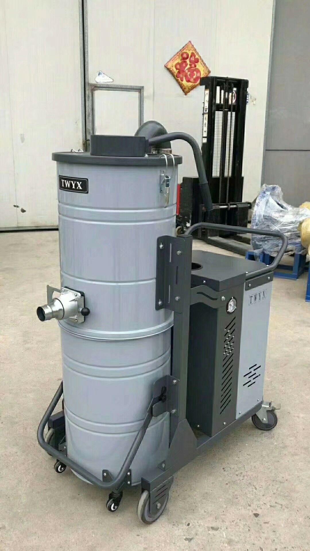 厂家直销地坪研磨粉尘吸尘器 车间地面打磨集尘器 移动式吸尘器示例图9