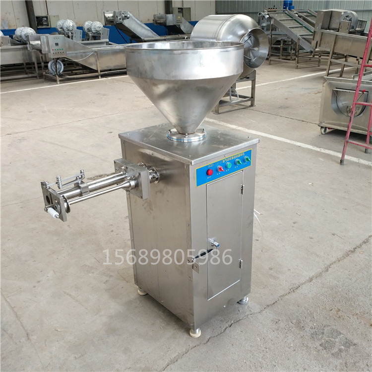 气动定量扭结灌肠机 自动打结灌肠机 气动灌肠机 香肠机示例图7
