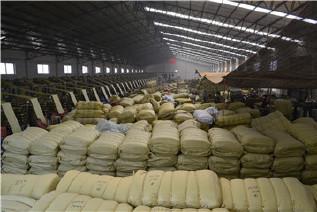 PP编织袋筒料生产厂家直销黄色半成品布卷 开边编织布可加工定做示例图18