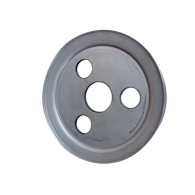 食品机械专用单槽劈开式V型皮带轮尺寸精准外观精致示例图4