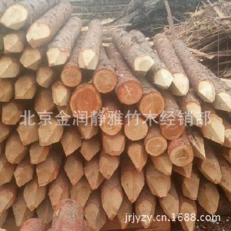 大兴防汛木桩 松木桩 松木防汛木桩 东北松木防汛木桩