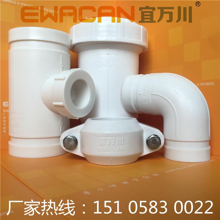 青岛HDPE沟槽式超静音排水管,HDPE柔性承插排水管,装配式HDPE示例图6