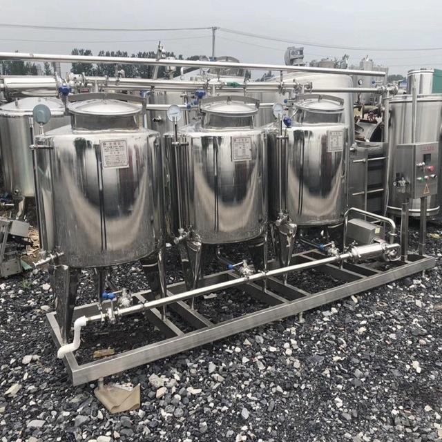 新乡高价收购就地在线手动全自动联体式316L材质CIP清洗罐发展前景