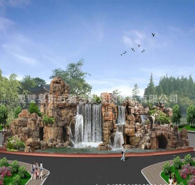 灵璧奇石 吸水石假山制作 家庭假山鱼池 批发千层石龟纹石 优质园林景