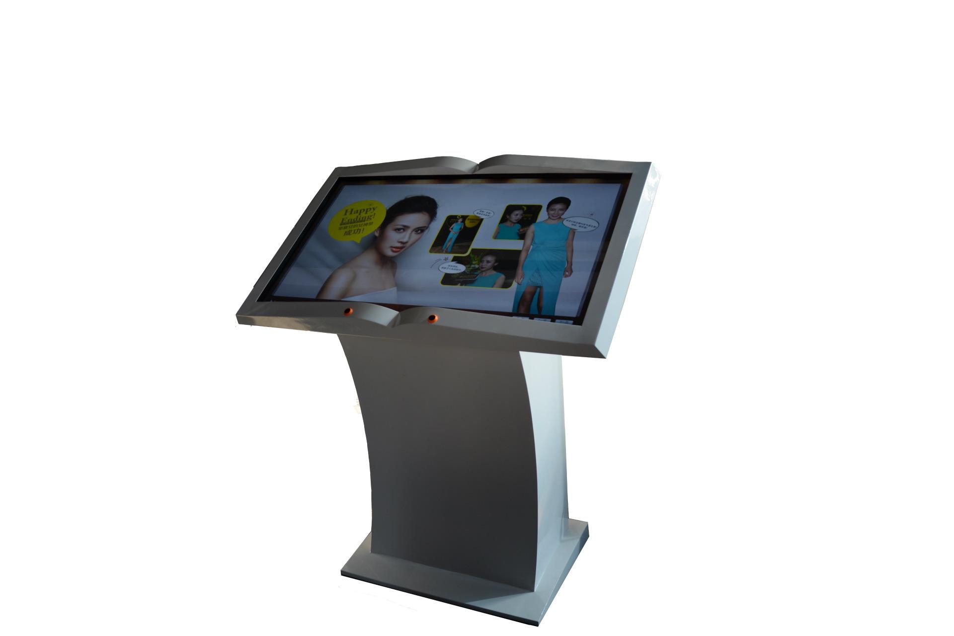 厂家直销HPLD42寸虚拟翻书台空中翻书台全息空中虚拟翻书台示例图6