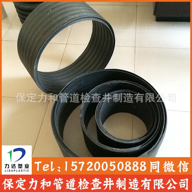 中空壁缠绕管 井壁管 HDPE双平壁缠绕管示例图7