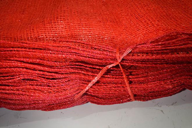 红薯袋子批发红色网眼袋 四方眼55*85橘子包装六十斤装水果蔬菜袋示例图28