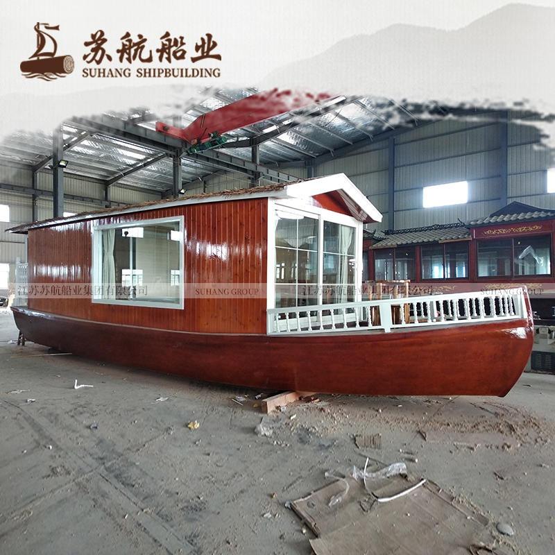 苏航定制马尔代夫房船 欧式房船 水上船屋 水上住宿船
