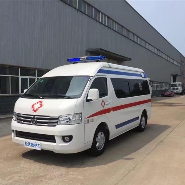 长轴国V救护车运输型救护车乡镇卫生院私立专用救护车厂家定制随时看车图片