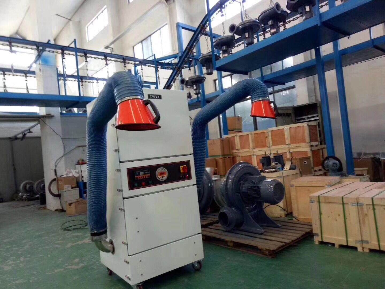 厂家直销 万能磨床粉尘收集工业集尘器  吸扬尘 浮尘柜式吸尘器示例图9