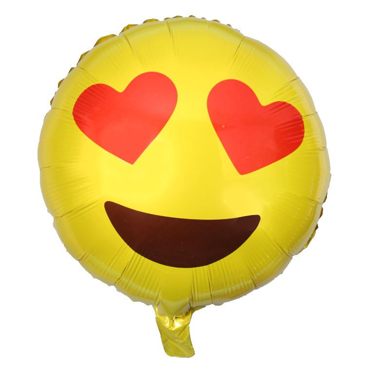 【表情emoji飞吻铝膜表情调皮a表情表情新品范丞丞生气1的气球包图片