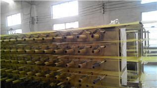 PP编织袋筒料生产厂家直销黄色半成品布卷 开边编织布可加工定做示例图13