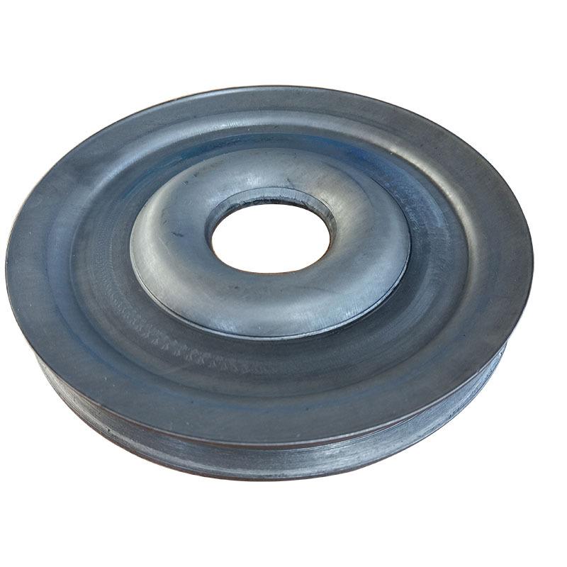 粉碎机械专用配套劈开式V型皮带轮尺寸精准外观精致质量保证示例图3