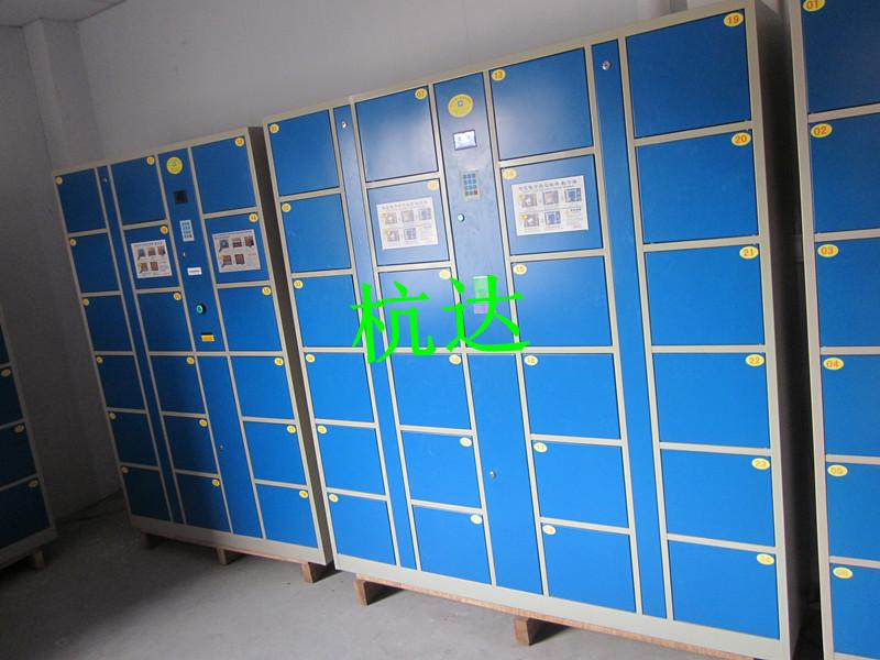 厂家供应物流快递柜存取柜酒店刷卡寄存柜条码存包柜示例图8