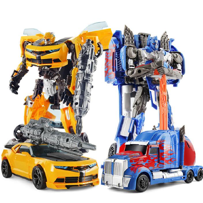 变形玩具金刚5 电影正版4 儿童男孩大黄蜂擎天汽车机器人手办模型图片