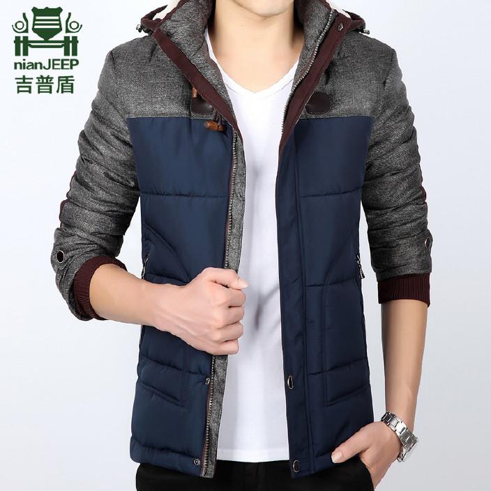冬装男士棉衣加厚冬季休闲外套男装棉服潮 修身韩版棉服男式大码图片
