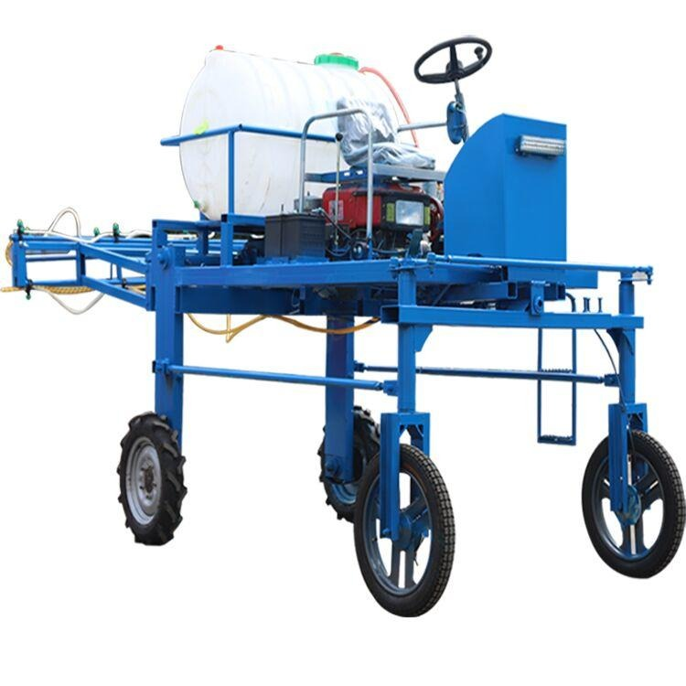 15马力小麦打药机 折叠喷杆 12米宽幅 轮距可调小麦玉米打药机现货
