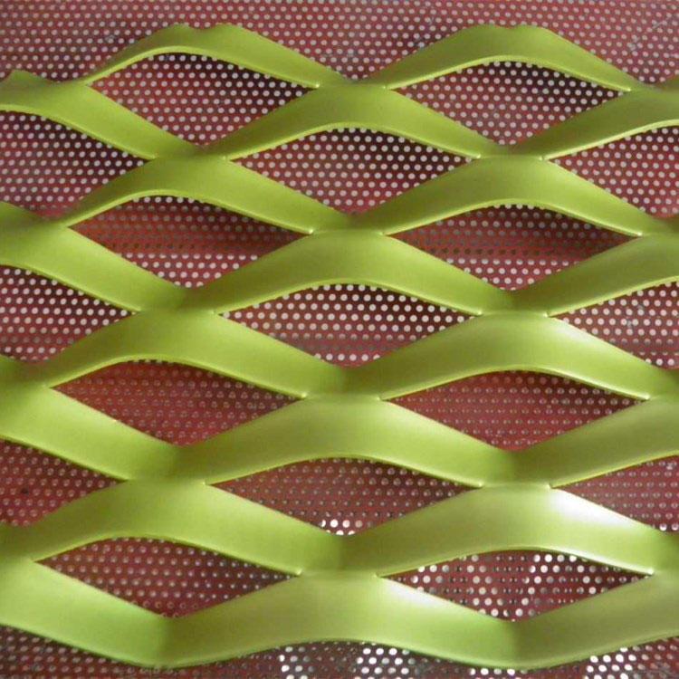 优质菱形网 菱形钢板拉伸网 重型铁板网 照来生产厂家