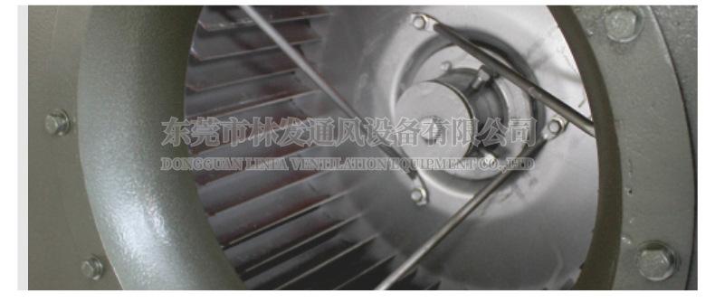 林发 不锈钢油烟净化专用风机 厨房排烟离心通风机 不锈钢风机 厨房排烟通风机 电话议价示例图6