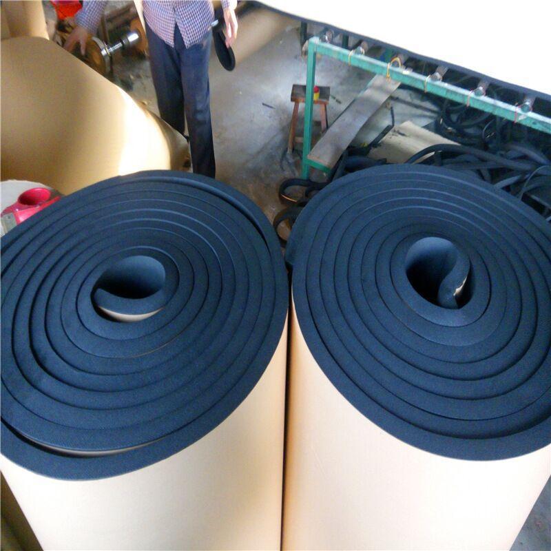 橡塑棉 嘉豪保温管道保温 橡塑板隔音 隔热棉橡塑 保温板自粘吸音棉