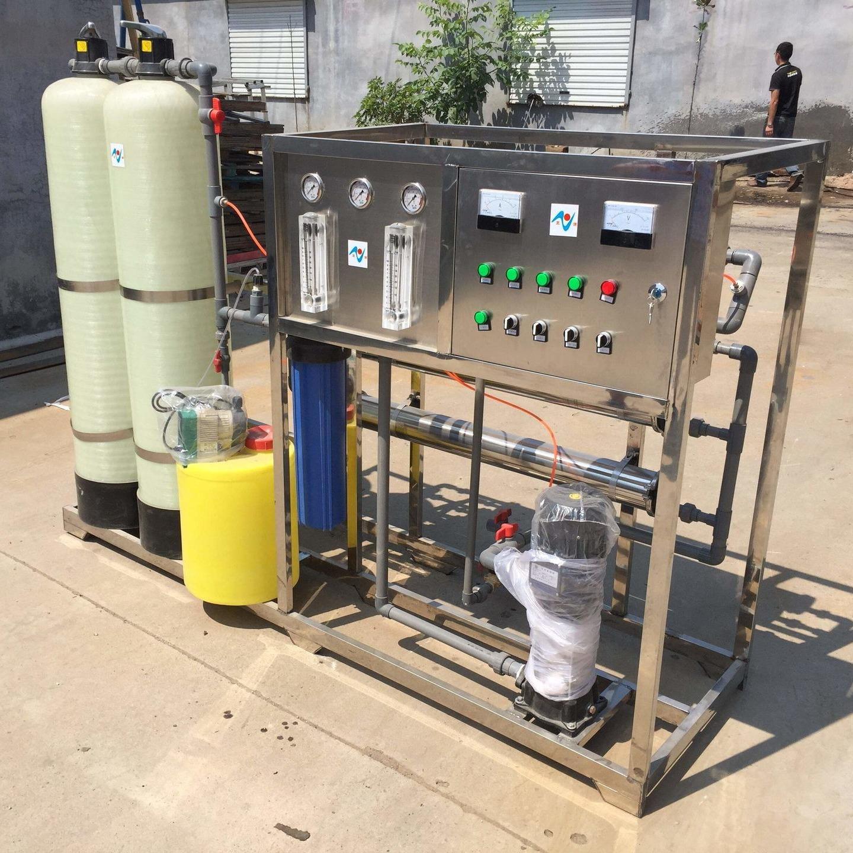 全自动水处理设备  桶装水厂前景 去除水中重金属的设备  全自动锅炉软水器图片