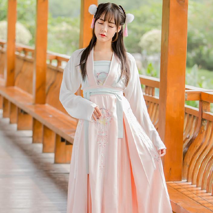一件代发免费代理 汉服女装 古装演出服 厂家直