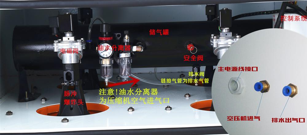 玻璃纤维复合材料滤筒集尘器 碳纤维粉尘收集脉冲滤筒集尘器    集尘器厂家 可非标定制示例图6