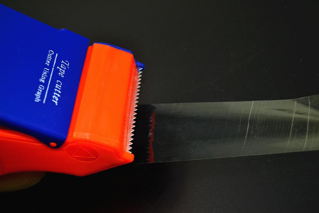 封箱器打包胶带大小号机胶带切割器蓝色封箱带切割面打包器手持示例图14
