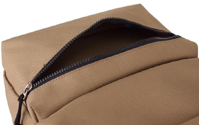 2016新款简约纯色双口袋背包 时尚休闲款运动包学生书包直销示例图36