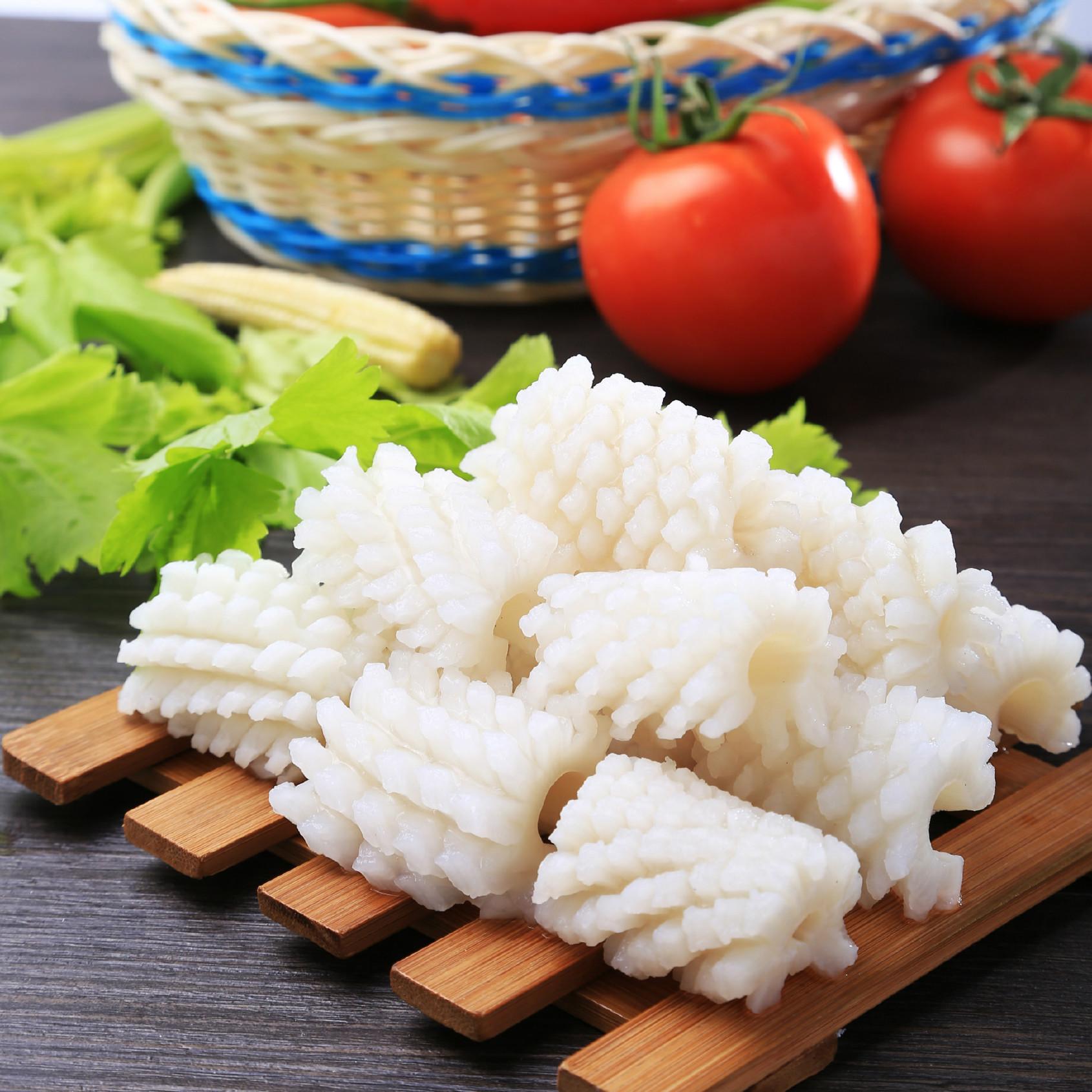 冷冻海鲜鱿鱼花 墨鱼花 专业打捞生产速冻 新鲜