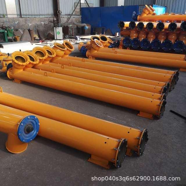 水泥螺旋输送机 不锈钢螺旋输送设备 迅腾厂家直销小型管式蛟龙输送机 输送