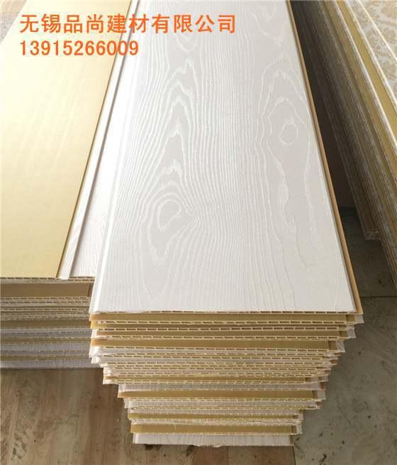 木塑集成墙板防潮保温隔热  无锡集成墙面材料生产厂家
