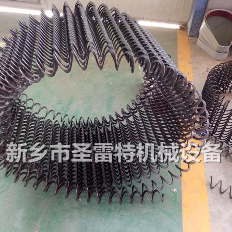 圣雷 應管徑100吸糧機彈簧葉片 75型螺旋葉片 車載抽糧機螺旋彈簧示例圖4