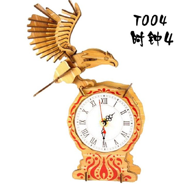 3diy立体拼图老鹰摆件创意中式旅游木制工艺品 批发 可定制加工