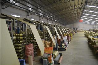 PP编织袋筒料生产厂家直销黄色半成品布卷 开边编织布可加工定做示例图16