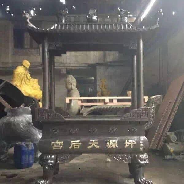 香爐 溫州慈宏生產廠家,景區香爐,寺廟香爐,長方形八龍柱二層香爐