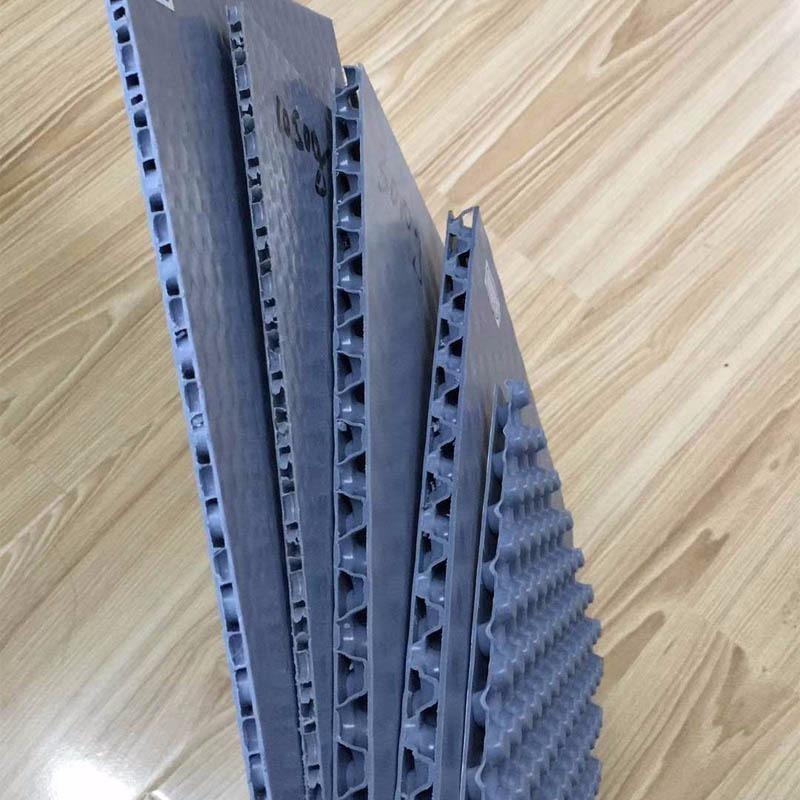 蜂窝板隔板 磨砂蜂窝板垫板 PP塑料蜂窝板定制