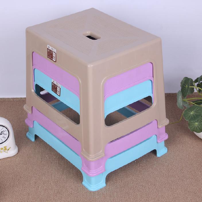 加厚幼儿园塑料凳子 时尚家用成人小板凳 换鞋凳儿童椅子批发